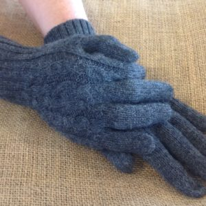 Cable Gloves - Charcoal