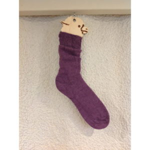 Everyday Socks Damson Plain