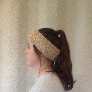 Feather Headband in Lana
