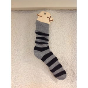 Everyday Socks Grey & Black Stripes