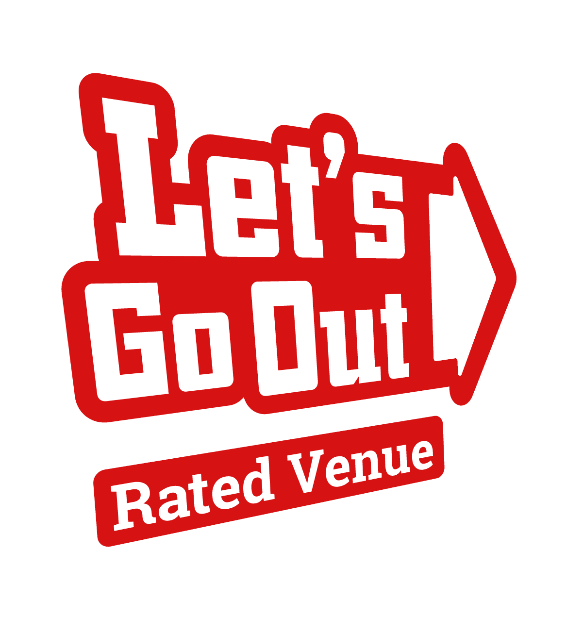 Lets Go Out Rated Venue Badge